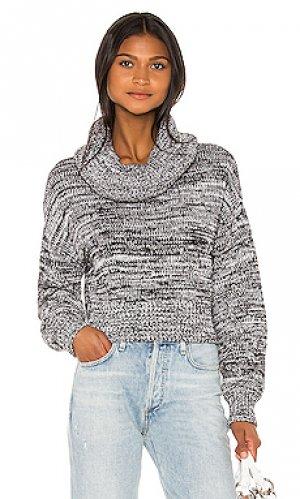 Пуловер paislee Lovers + Friends. Цвет: серый