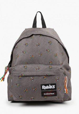 Рюкзак Eastpak x Rubiks. Цвет: серый