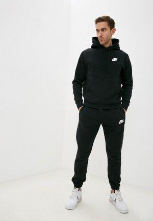 Костюм спортивный Nike M NSW CE FLC TRK SUIT BASIC. Цвет: черный