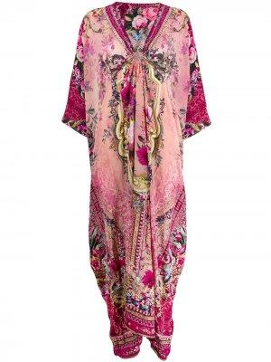Платье-кафтан с цветочным принтом Camilla