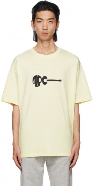 Yellow Maël T-Shirt A.P.C.. Цвет: daa yellow