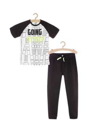 Пижама для мальчиков 5.10.15.. Цвет: черный