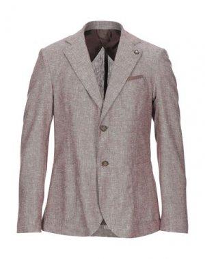 Пиджак HAMAKI-HO. Цвет: коричневый