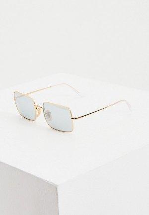 Очки солнцезащитные Ray-Ban® RB1969 001/W3. Цвет: золотой
