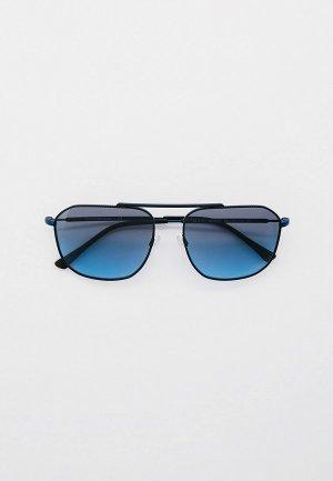 Очки солнцезащитные Emporio Armani EA2107 3018V1. Цвет: синий