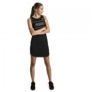 Платье Modern Sports Dress PUMA. Цвет: черный