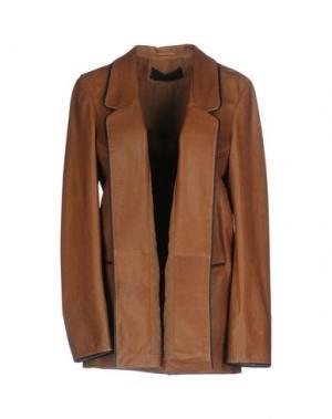 Пиджак ENES. Цвет: коричневый