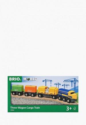 Набор игровой Brio Товарный поезд. Цвет: разноцветный
