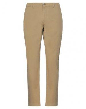 Повседневные брюки DOCKERS. Цвет: хаки