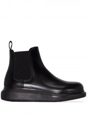 Ботинки челси Alexander McQueen. Цвет: черный