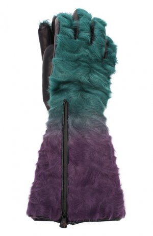 Перчатки Moncler. Цвет: разноцветный