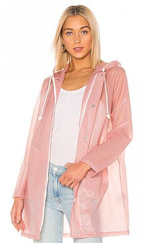 Плащ the raincoat MOTHER. Цвет: розовый
