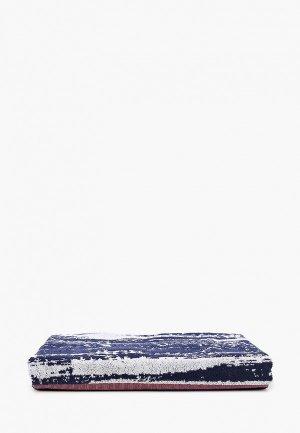 Полотенце adidas REAL TOWEL. Цвет: синий