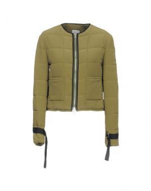 Куртка ALYSI. Цвет: зеленый-милитари