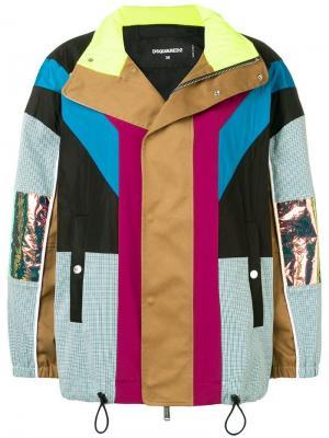 Куртка дизайна колор-блок Dsquared2