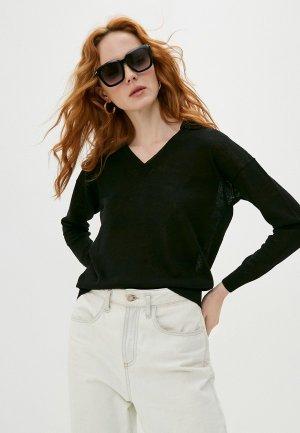 Пуловер Cappellini. Цвет: черный