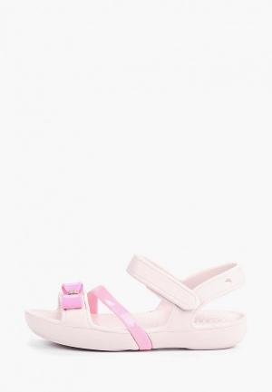 Сандалии Crocs Lina Charm Sandal K. Цвет: розовый