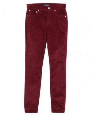 Повседневные брюки J.CREW. Цвет: красно-коричневый