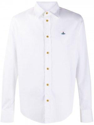 Поплиновая рубашка Vivienne Westwood. Цвет: белый