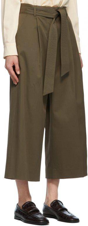 Khaki Ghisa Trousers Max Mara. Цвет: 003 kaki