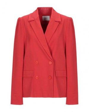 Пиджак JUST FEMALE. Цвет: красный