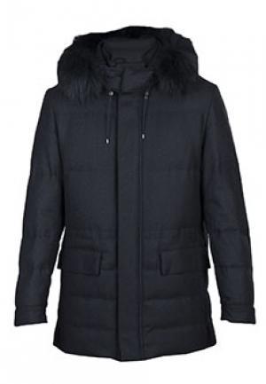 Пальто CORNELIANI. Цвет: черный