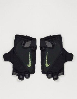 Черные фитнес-перчатки Mens Training Elemental-Черный цвет Nike
