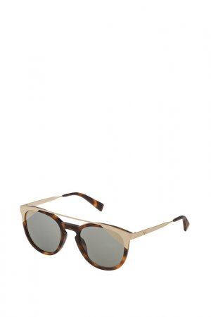 Очки солнцезащитные Furla. Цвет: черепаховый