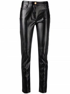Biker skinny trousers Ermanno. Цвет: черный