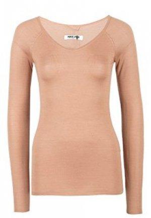 Пуловер MAX & MOI. Цвет: коричневый