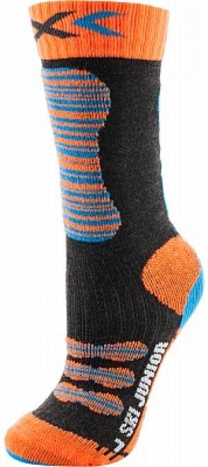 Гольфы детские , 1 пара, размер 27-30 X-Socks. Цвет: черный