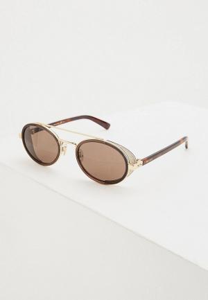 Очки солнцезащитные Jimmy Choo TONIE/S FG4. Цвет: коричневый