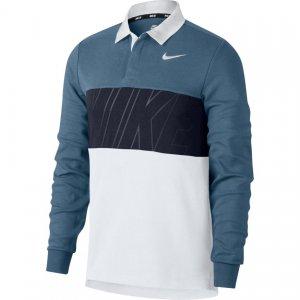 Рубашка-Поло Dry Nike SB. Цвет: синий