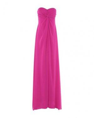 Длинное платье LEXUS. Цвет: фуксия