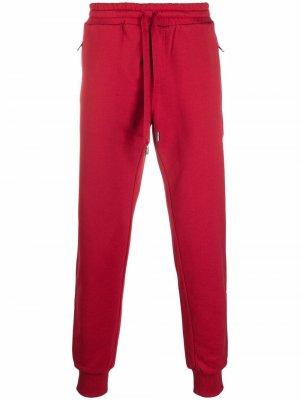 Спортивные брюки из джерси Dolce & Gabbana. Цвет: красный