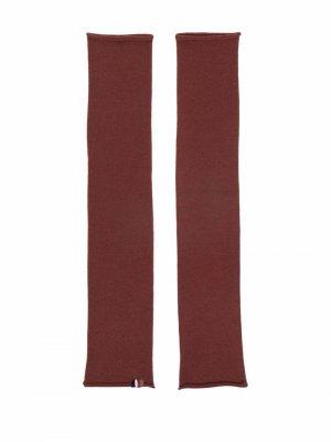 Tube Narrow arm warmers extreme cashmere. Цвет: коричневый