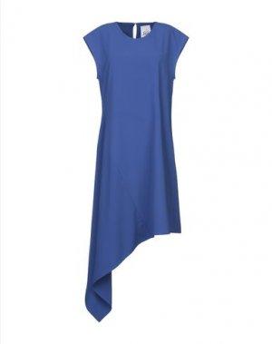 Короткое платье JIJIL. Цвет: синий