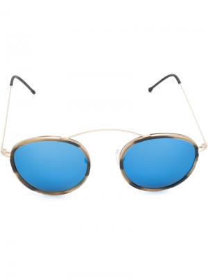 Солнцезащитные очки Met-ro 2 Spektre. Цвет: коричневый
