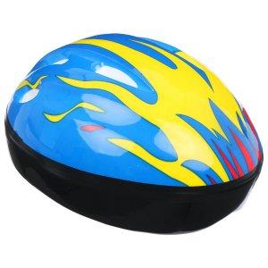 Шлем защитный детский ot-h6, размер s, 52-54 см, цвет синий ONLITOP