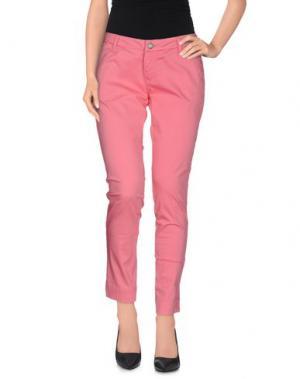 Повседневные брюки DEKKER. Цвет: светло-фиолетовый