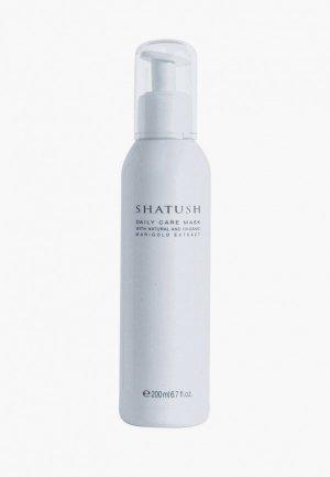 Маска для волос Aldo Coppola SHATUSH частого применения  с календулой 200 мл. Цвет: белый
