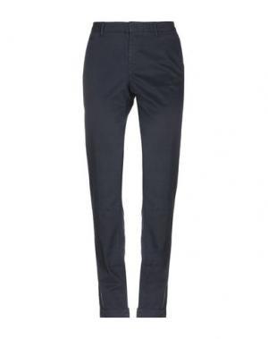 Повседневные брюки PT Torino. Цвет: темно-синий