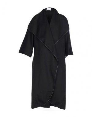 Легкое пальто VIONNET. Цвет: черный