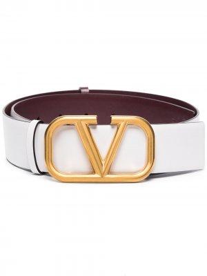 Ремень с логотипом VLogo Valentino Garavani. Цвет: белый
