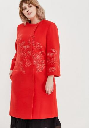 Пальто Grand Madam. Цвет: красный