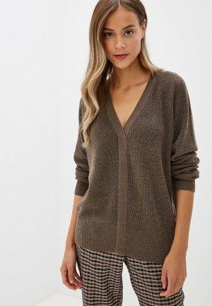 Пуловер Silvian Heach. Цвет: коричневый