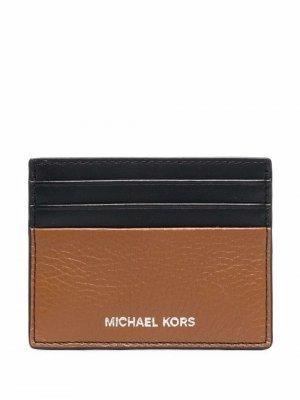 Картхолдер с логотипом Michael Kors. Цвет: черный