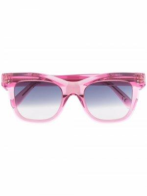 Солнцезащитные очки Vita Blush Retrosuperfuture. Цвет: розовый