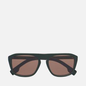 Солнцезащитные очки BE4286 Burberry. Цвет: зелёный