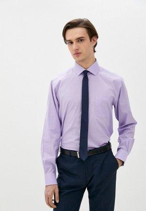 Рубашка Henderson. Цвет: фиолетовый